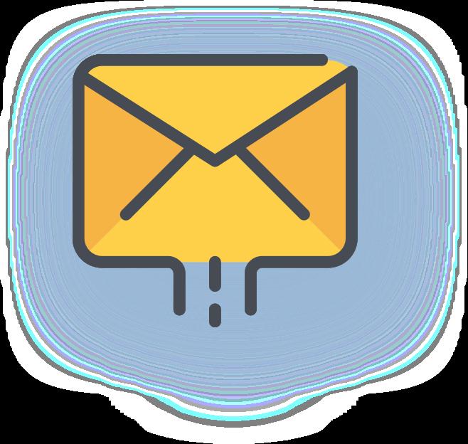 Анонсирование посредством еmail-рассылки по базам компании